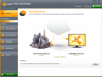 Avast Free Antivirus 17.4.2294.17.4.3482.0 screenshot. Click to enlarge!