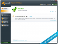 Avast Pro Antivirus 17.1.2286 (17.1.3394.0) screenshot. Click to enlarge!