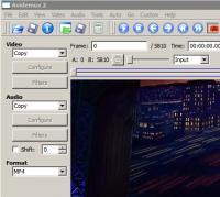 Avidemux 2.6.21 screenshot. Click to enlarge!