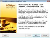 BCWipe Total WipeOut 3.5.1 screenshot. Click to enlarge!