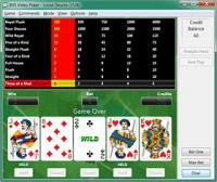 BVS Video Poker 2.1 screenshot. Click to enlarge!