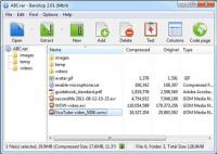 Bandizip Portable 6.07.22925 screenshot. Click to enlarge!