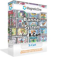 Banner System for X-Cart Mod 2.8.3 screenshot. Click to enlarge!
