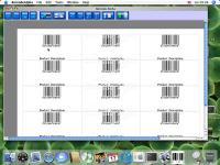 Barcode Alpha 1.1 for  Mac OS X 10 screenshot. Click to enlarge!