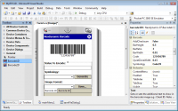 Barcode Professional for .NET Compact Framework 2.0 screenshot. Click to enlarge!