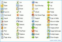 Basic Icon Set 1.2 screenshot. Click to enlarge!