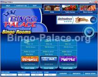 Bingo Palace 3.2.1 screenshot. Click to enlarge!