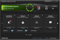 Bitdefender Antivirus Plus 2017 21.0.25.92 screenshot. Click to enlarge!