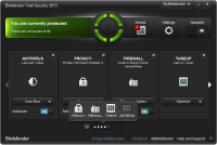 Bitdefender Total Security Multi-Device 2017 21.0.25.92 screenshot. Click to enlarge!