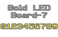 Bold LED Board-7 1.0 screenshot. Click to enlarge!