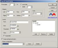 BookMarker 1.0 screenshot. Click to enlarge!