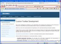 Bookmark Toolbar 1.3.5.5 screenshot. Click to enlarge!