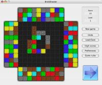 BrickShooter for Mac 1.13 screenshot. Click to enlarge!