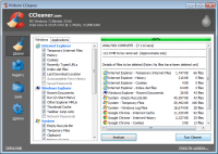 CCleaner Professional Edition 5.31.6105 screenshot. Click to enlarge!