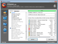 CCleaner 5.31.6105 screenshot. Click to enlarge!
