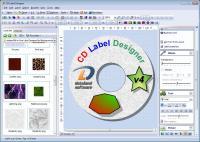 CD Label Designer 7.0.735 screenshot. Click to enlarge!