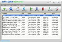 CD To WMA Converter 1.00.1 screenshot. Click to enlarge!