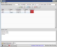 CD2OGG 1.0.1 screenshot. Click to enlarge!