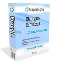 CRE Loaded Froogle Data Feed 7.6.7 screenshot. Click to enlarge!