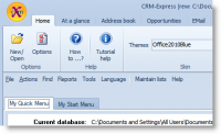 CRM-Express Ultimate 2017.6.1 screenshot. Click to enlarge!