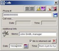 Calls 1.1 screenshot. Click to enlarge!