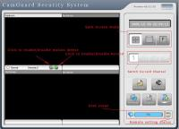 CamGuard Security System (4 Channels) 4.0.12.133 screenshot. Click to enlarge!