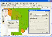 Canvas GIS Advanced 9.0.4 screenshot. Click to enlarge!