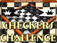 Checkers Challenge 1.0 screenshot. Click to enlarge!