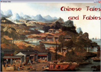 Chinese Tales and Fables 3.0.0.1 screenshot. Click to enlarge!