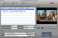Clone2Go DVD to BlackBerry Converter for Mac 2.0.0 screenshot. Click to enlarge!