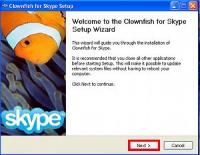 Clownfish for Skype 4.45 screenshot. Click to enlarge!