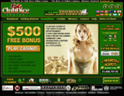 Club Dice Casino by Online Casino Extra 2.0 screenshot. Click to enlarge!
