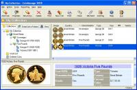 CoinManage UK Coin Collecting Software 2006 screenshot. Click to enlarge!