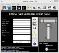 Condenser Design 1.5.0.0 screenshot. Click to enlarge!