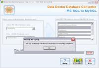 Convert Microsoft SQL to MySQL 2.0.1.5 screenshot. Click to enlarge!