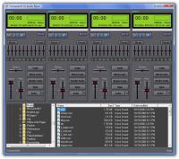 ConvexSoft DJ Audio Mixer 2.4 screenshot. Click to enlarge!