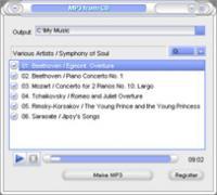 CopyAudioCD 1.01 screenshot. Click to enlarge!