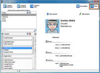CopyTrans Contacts 1.603 screenshot. Click to enlarge!