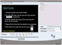 Cucusoft DVD to iPod Converter 3.21 screenshot. Click to enlarge!