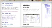 CuteMarkEd 0.11.3 screenshot. Click to enlarge!