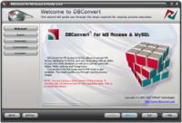 DBConvert for Access & MySQL 6.0.0 screenshot. Click to enlarge!