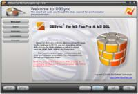 DBSync for FoxPro & MSSQL 2.0.2 screenshot. Click to enlarge!