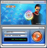 DVD-Cloner IV Platinum! 7.1 screenshot. Click to enlarge!