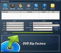 DVD Rip Factory 8.0.7.24 screenshot. Click to enlarge!
