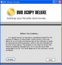 DVD XCopy Deluxe Platinum 7.6.03 screenshot. Click to enlarge!