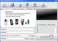 DVDPe Pro 2.3 screenshot. Click to enlarge!
