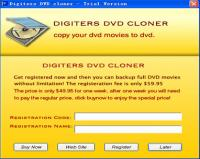Digiters DVD Cloner 3.6.6 screenshot. Click to enlarge!