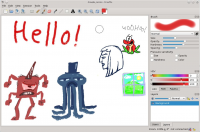 DrawPile 2.0.5 screenshot. Click to enlarge!