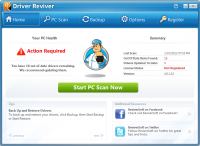 Driver Reviver 5.19.0.12 screenshot. Click to enlarge!