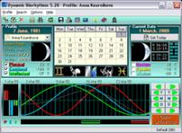 Dynamic Biorhythms 5.29 screenshot. Click to enlarge!